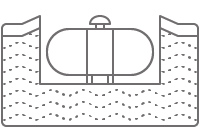 Propane Tank Underground